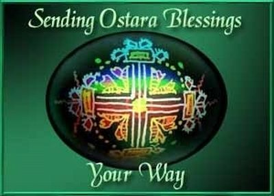Celebrate Ostara - the spring equinox - with us