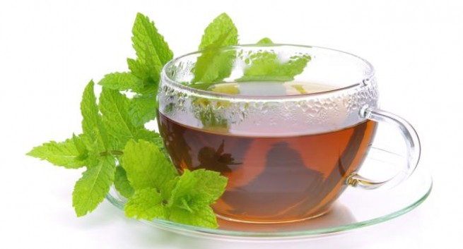 Herbal Tea from the Gardens