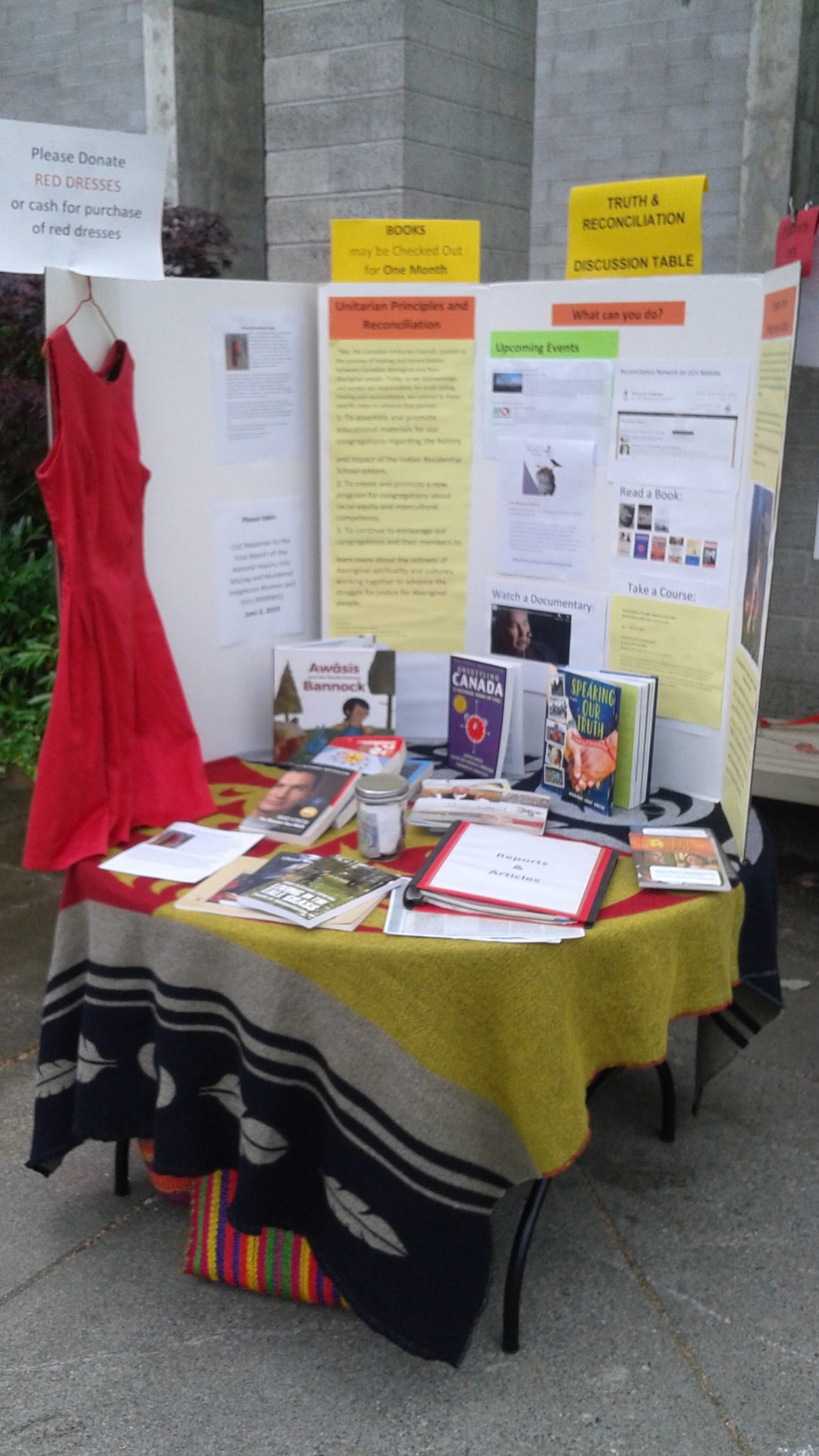 Truth & Reconciliation Discussion Table