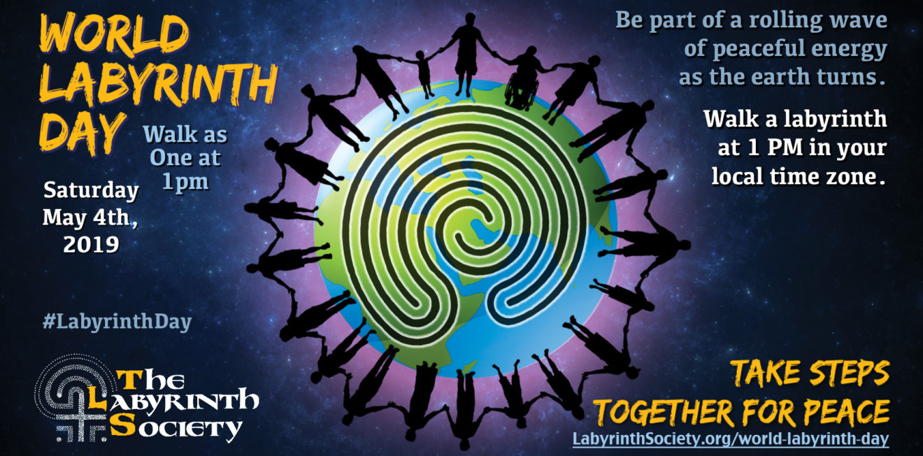 World Labyrinth Day - Walk As One at One