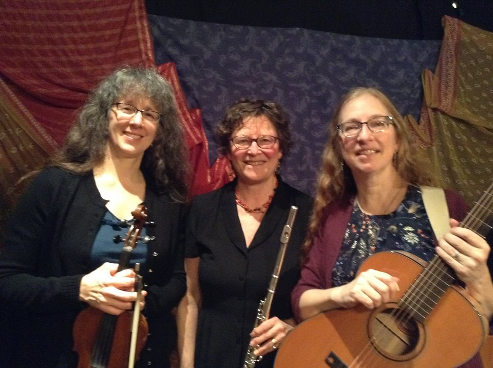 JES Trio performing for circle dance
